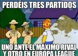 Enlace a Los del Manchester United lo tenían planeado desde el principio