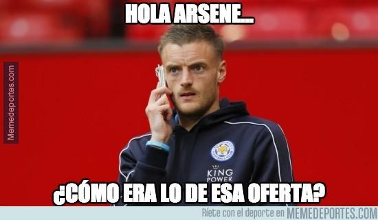 910834 - Vardy recuerda ahora la oferta del Arsenal