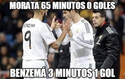 Enlace a Morata vs Benzema