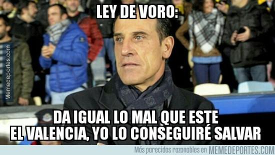 911236 - Voro es el entrenador que el Valencia necesita, pero no el que merece