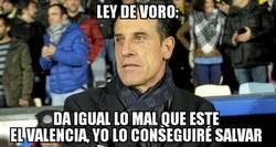 Enlace a Voro es el entrenador que el Valencia necesita, pero no el que merece