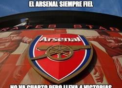 Enlace a Arsenal, siempre fiel