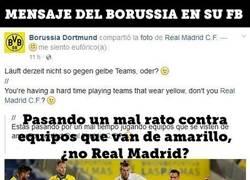 Enlace a Esta vacilada del Borussia Dortmund intimidando al Madrid les puede salir cara