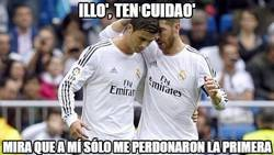 Enlace a Tras la mano, Ramos aconseja a Cristiano