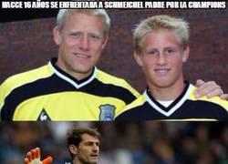 Enlace a Casillas vs Schmeichel
