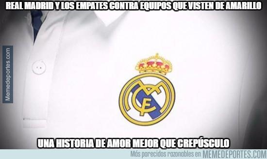 911838 - Real Madrid y los empates contra equipos que visten de amarillo