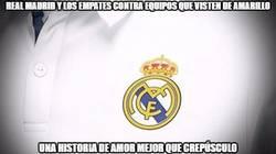 Enlace a Real Madrid y los empates contra equipos que visten de amarillo