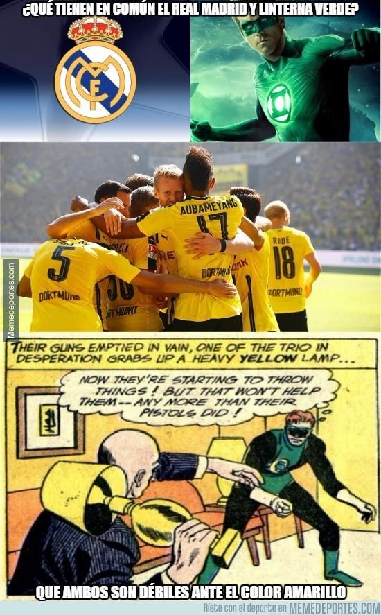 911849 - ¿Qué tienen en común el Real Madrid y linterna verde?