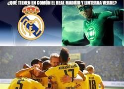Enlace a ¿Qué tienen en común el Real Madrid y linterna verde?