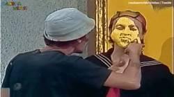 Enlace a GIF: Al Real Madrid los de amarillo le están pintando la cara