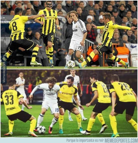 911972 - El Dortmund sabe quién es el que hay que marcar del Madrid