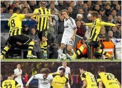 Enlace a El Dortmund sabe quién es el que hay que marcar del Madrid