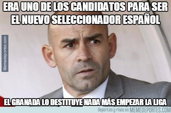 912041 - Paco Jémez destituido