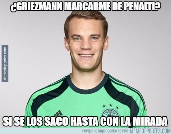 912270 - ¿Griezmann marcarme de penalti?