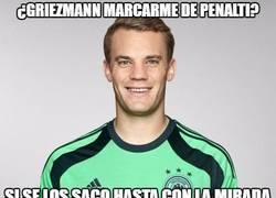 Enlace a ¿Griezmann marcarme de penalti?