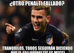 Enlace a Penalti fallado en dos finales y hoy en champions