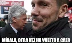 Enlace a Simeone le tiene ganada la partida a Ancelotti