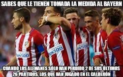 Enlace a El Bayern no puede con el Atlético