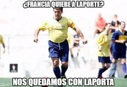 Enlace a ¿Francia quiere a Laporte?