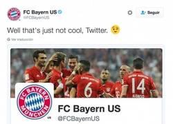 Enlace a La cuenta oficial de Twitter se ríe del Bayern de Munich de forma descarada
