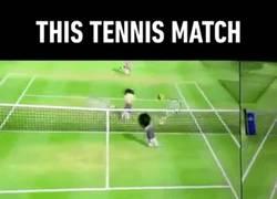 Enlace a ¿Hay algo más intenso que un partido de tenis en la Wii?