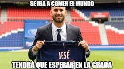 Enlace a Jesé fracasando en la Ligue1