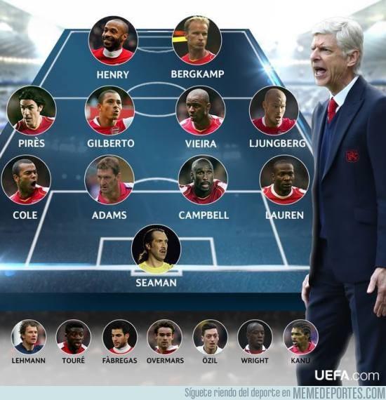 912953 - ¿Es Éste el mejor XI posible del Arsenal en la era de Arsène Wenger?