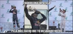 Enlace a La zapatilla de Ricciardo pilla mucho...
