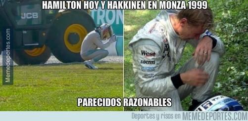 913000 - Parecidos razonables entre Hamilton y Hakkinen