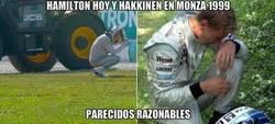 Enlace a Parecidos razonables entre Hamilton y Hakkinen