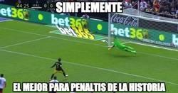 Enlace a Diego Alves lo ha vuelto a hacer