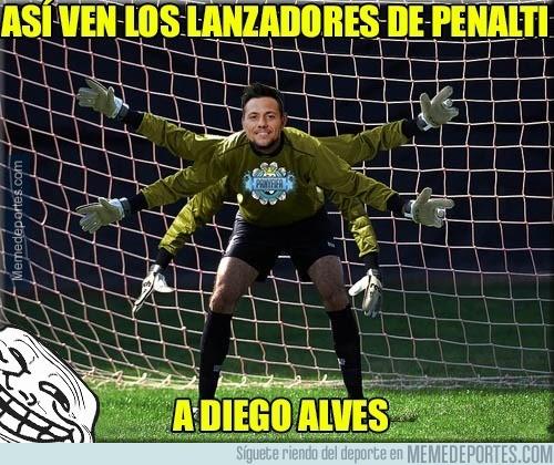 913072 - Diego Alves en estos momentos