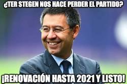 Enlace a Mientras tanto, en can Barça, Ter Stegen renovará hasta el 2021
