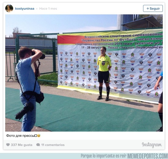 914106 - ¿Es Ekaterina Kostyunina la árbitro más espectacular del mundo?