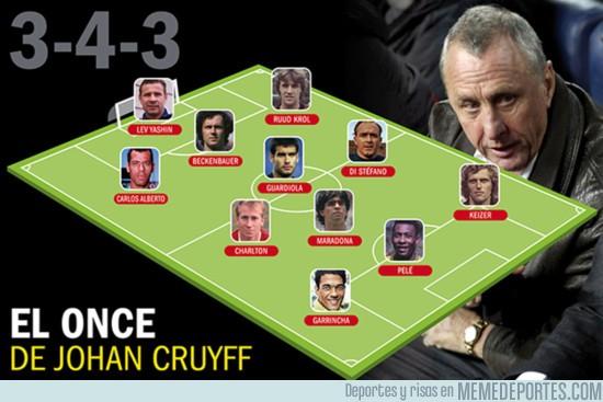 914136 - El XI ideal de Johan Cruyff