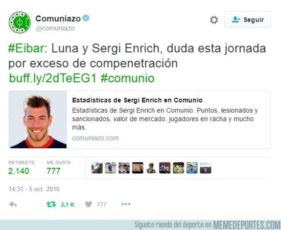 914180 - Sergi Enrich y Antonio Luna la lían en el Comunio