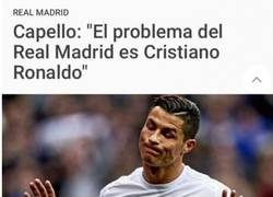 Enlace a Capello tiene claro el problema del Real Madrid