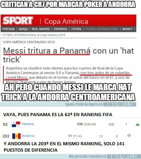 914986 - Panama (62ª) no es como Andorra (203ª)