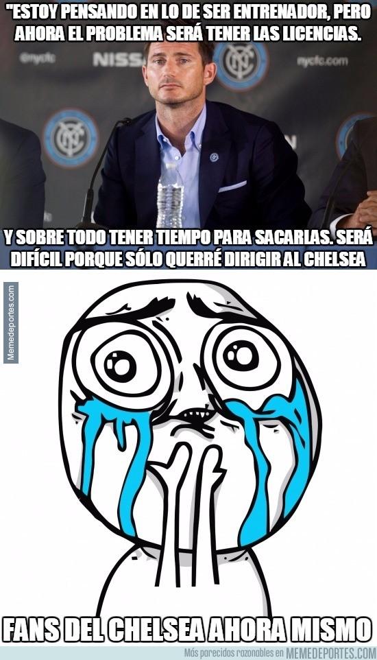 915049 - Estas declaraciones de Frank Lampard a Soccer AM harán llorar de alegría a los fans del Chelsea