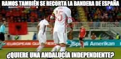 Enlace a Sergio Ramos la lía con España
