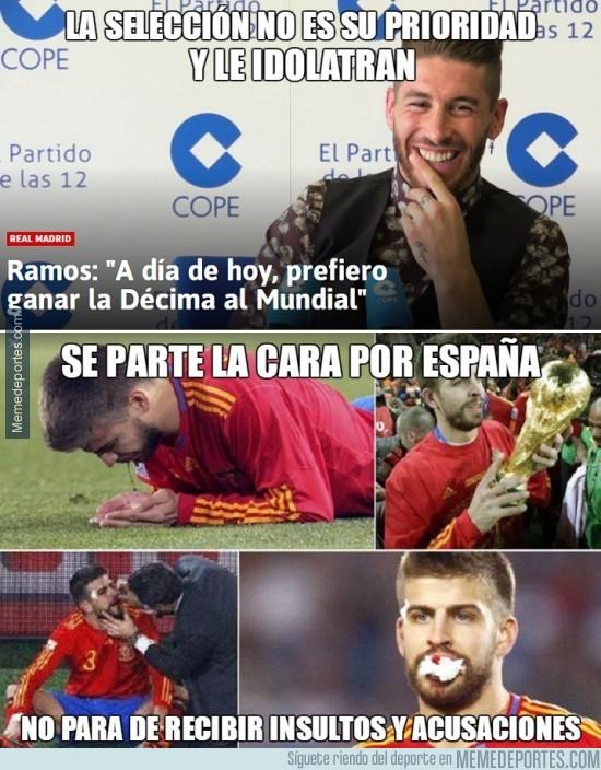 915200 - El doble rasero de España con los futbolistas de su selección