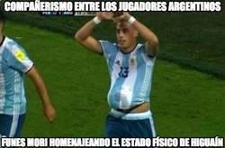 Enlace a Cuánto compañerismo en Argentina
