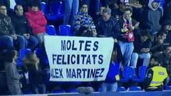Enlace a El golazo de Alex Martínez en su debut con 18 años