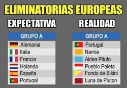 Enlace a La realidad de las eliminatorias en Europa