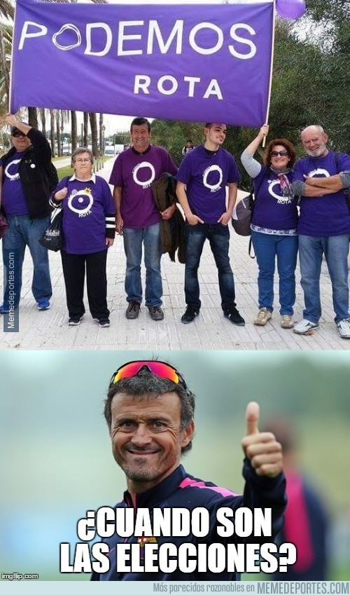 915468 - Luis Enrique está loco por votar