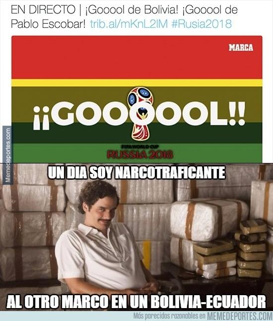 915540 - Pablo Escobar se sale en en Bolivia