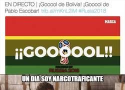 Enlace a Pablo Escobar se sale en en Bolivia