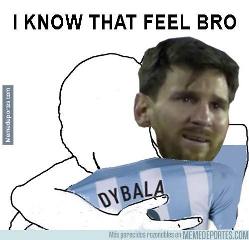 915623 - Dybala fue el único que jugó y eso que entró en la mitad del segundo tiempo