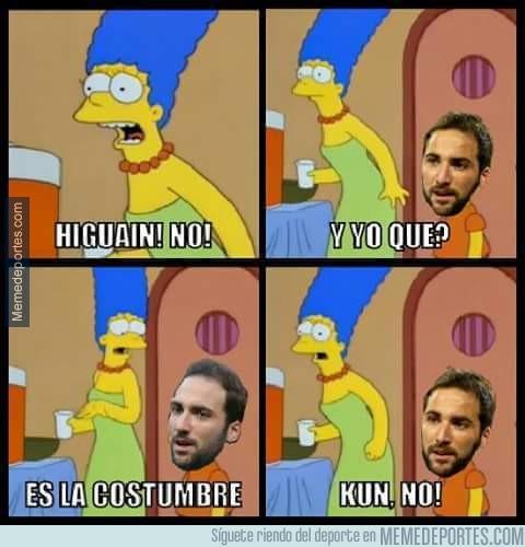 915830 - Argentina siempre contra Higuaín