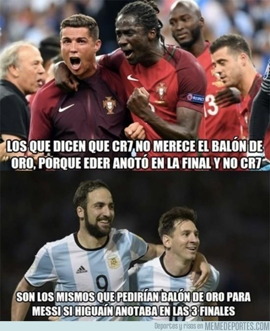 915839 - La injusticia que se comete con Cristiano y no con Messi